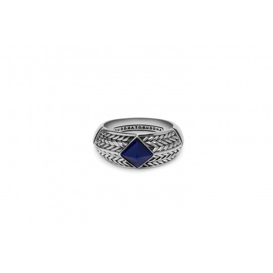 Buddha to buddha Ring Ellen stone blue - 58186
