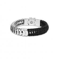 Buddha to Buddha armband Lars mix E 19cm zwart - 60379