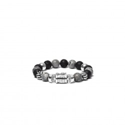 Buddha to Buddha bead mix grey 188MG F 21cm - 58782