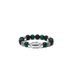 Buddha to Buddha spirit bead mix malachite 188MM F 21cm - 58793