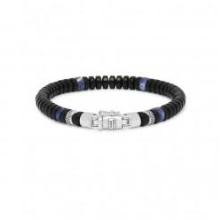 buddh to Buddha armband spirite beads mini onyx Sodalite 21cmF - 61058