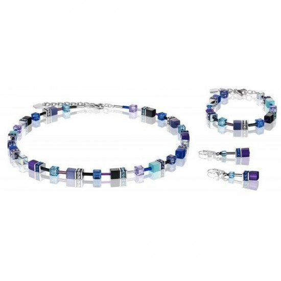 Coeur de Lion Collier Blue-Purpel 2838/10-0708 - 57743