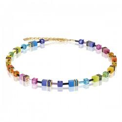 Coeur de Lion Collier Multicol Rainbow gold 2838/10-1573 - 58608