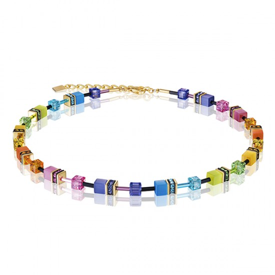 Coeur de Lion Collier Multicol Rainbow gold 2838/10-1573 - 58608
