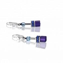 Coeur de Lion Oorbellen Bleu-purple 2838/20-0708 - 57760