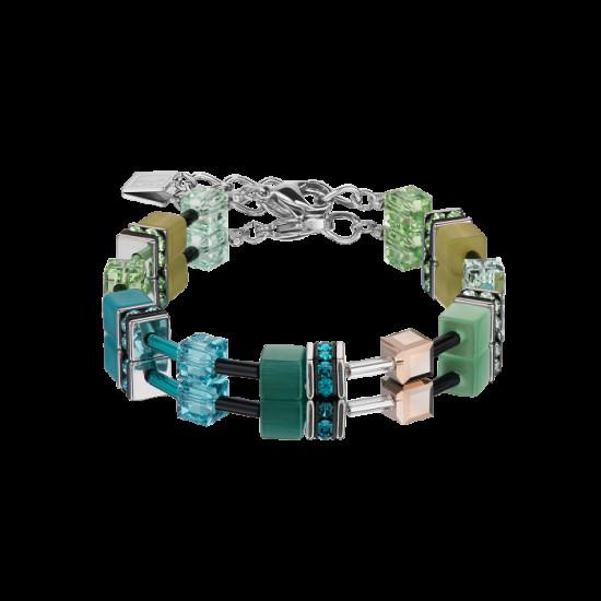 Coer de Lion Armband green-petrol 0537 - 58308
