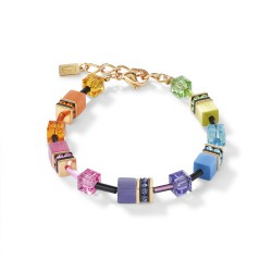 Coeur de Lion Armband  Multicol rainbow gold 2838/30-1573 - 58601