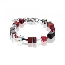 Coer de Lion Armband red-Grey 4014/10-0312 - 60875