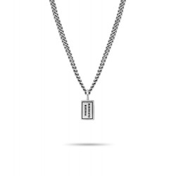 Buddha to buddha zilver Essential Necklace 75cm - 53703