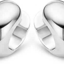 zilveren moments klapcreool 7.4mm - 51094