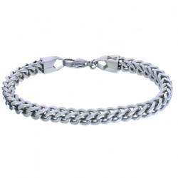 AZE Armband single V - Inox - 21cm - 60708