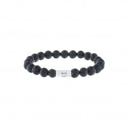 AZE Armband M/ 17.5cm beads 8mm  Trivor - 60672