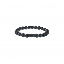 AZE Armband 17.5cm beads 8mm Mount Blackmore - 60694