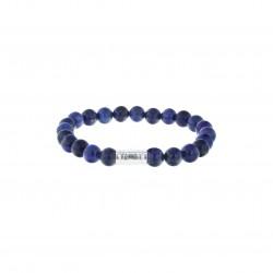 AZE Armband beads 8mm, 17.5cm Mount Fuji - 60691