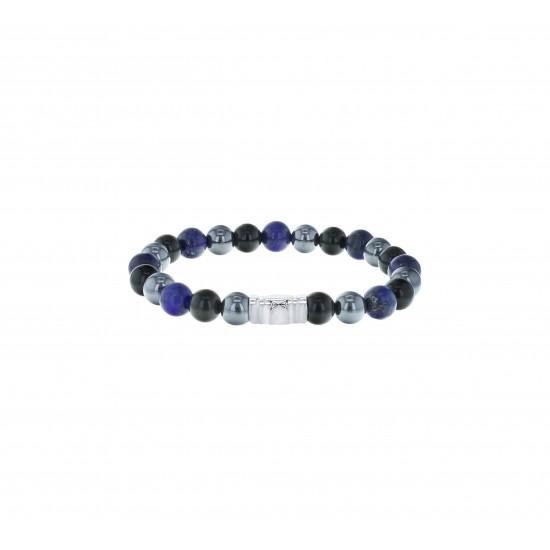 AZE Armband 17.5cm beads 8mm Grand Picasso - 60699
