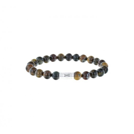 AZE Armband 17.5 beads Rocky mountains 8mm - 60688