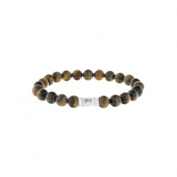 AZE Armband 17.5cm beads 8mm Grand Teton - 60705
