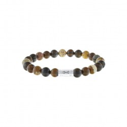 AZE Armband 17.5cm beads 8mm Olympus - 60702