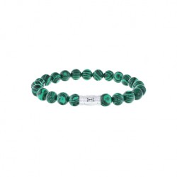 AZE Armband beads 8mm 19cm Mount Vermont - 60692