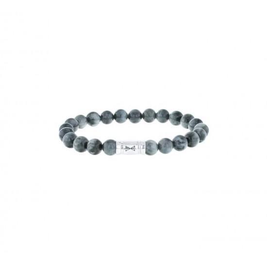 AZE Armband 17.5cm beads 8mm Eagle Peak - 60701