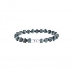AZE Armband 19cm beads 8mm Eagle peak - 60703