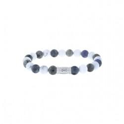 AZE Armband 19cm beads 8mm Matterhorn - 60695