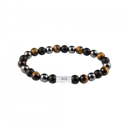AZE Armband 17.5 beads 8mm kilimanjaro - 60812