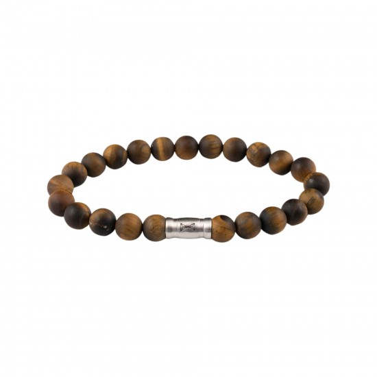 AZE Armband 17.5cm beads 8mm Grand Teton Matt - 60816