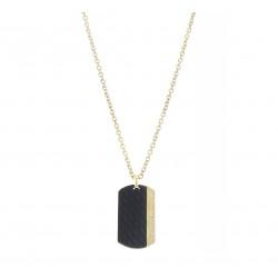 AZE AZ-NL001-A-080 collier 80cm dogtage Inox - 60676