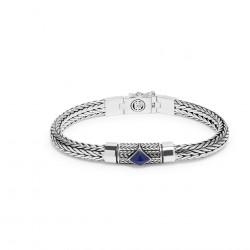 Buddha to Buddha armband Ellen stone blue E 19cm - 58187