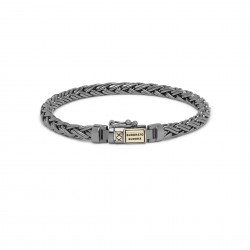 J170BR SG E Buddha to Buddha Armband Kaja xs black rhaodium shine goud 14k E 19cm - 60390