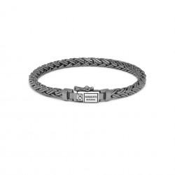 J170BR SS D Buddha to Buddha Armband Katja xs black rhodium shine zilver 18cm - 60391