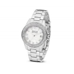 VNDX Amsterdam horloge set staal MS73000-02 - 60272