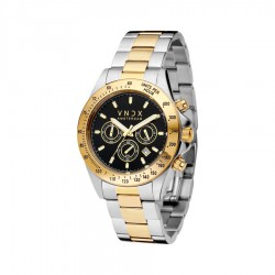 VNDX Amsterdam horloge Chrono big size tweo tone gold MT11535-01. - 60288
