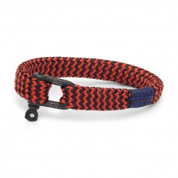 PIG & HEN Armband Sharp Simon Jungle coral Rad Navy M/L 19cm - 60012