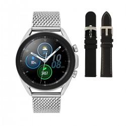 SA.R850SM Samsung smart watch staal mesh, leer en rubber. - 61312