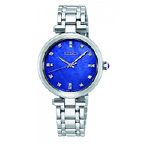 DAMES Staal bracelet blw diamonds SRZ531P1 seiko - 60348