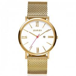 zinzi horloge geel Mini Retro ziw507m INCL GRATIS ARMBANDJE - 55090
