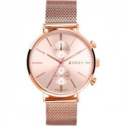 zinzi horloge Traveller, Chrono rose/ rose plaat INCL GRATIS HORLOGE - 56461